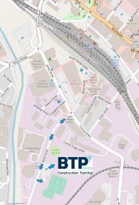 BTP Map